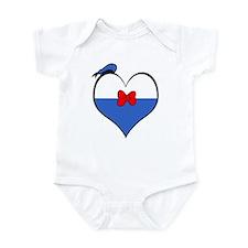I Heart Donald Infant Bodysuit