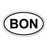 Bonaire BON Decal