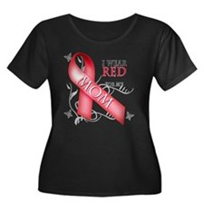 I Wear Red for my Mom T