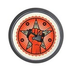 Rise Up Revolution Wall Clock