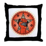 Rise Up Revolution Throw Pillow