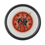 Rise Up Revolution Large Wall Clock