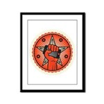 Rise Up Revolution Framed Panel Print
