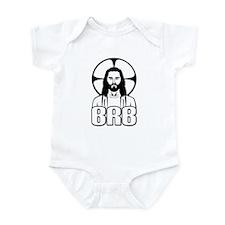Jesus - Be Right Back Infant Bodysuit