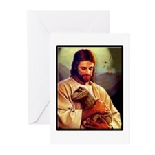 And On The 8th Day Greeting Cards (Pk of 10)