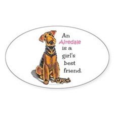 Airedale Terrier Lover Decal