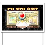 Pr Ntr Kmt Yard Sign