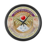 Pr Ntr Kmt Large Wall Clock