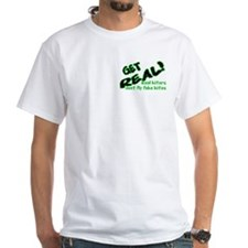 Shirt, front view, green