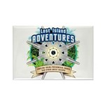 Lost Island Adventures Rectangle Magnet