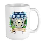 Lost Island Adventures Large Mug