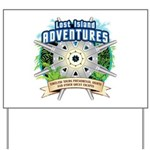 Lost Island Adventures Yard Sign