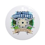 Lost Island Adventures Ornament (Round)