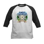 Lost Island Adventures Kids Baseball Jersey