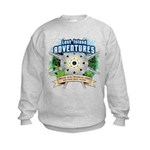 Lost Island Adventures Kids Sweatshirt
