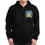 Lost Island Adventures Zip Hoodie (dark)