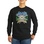 Lost Island Adventures Long Sleeve Dark T-Shirt
