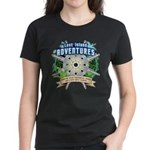 Lost Island Adventures Women's Dark T-Shirt