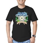 Lost Island Adventures Men's Fitted T-Shirt (dark)