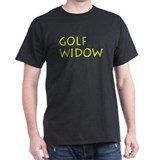 GOLF WIDOW Black T-Shirt