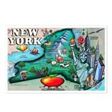 Cute New york Postcards (Package of 8)