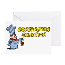 Conjunction Junction Greeting Card