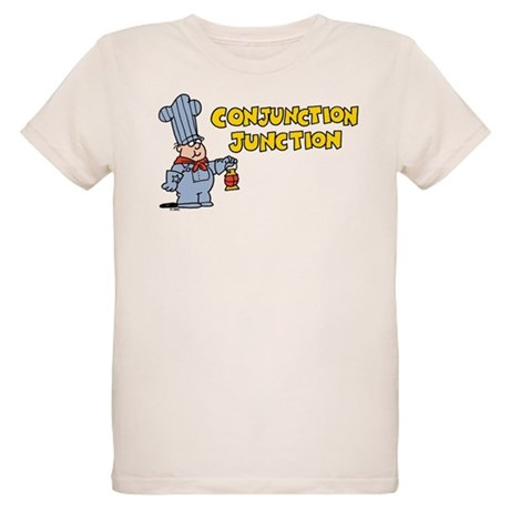 Conjunction Junction Organic Kids T-Shirt