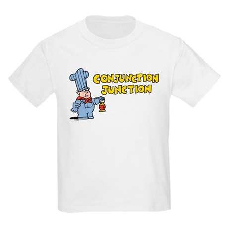 Conjunction Junction Kids Light T-Shirt