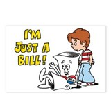 Just a Bill Postcards (Package of 8)