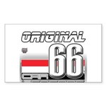 Musclecar 66 H Sticker (Rectangle 10 pk)