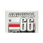 Musclecar 66 H Rectangle Magnet (10 pack)