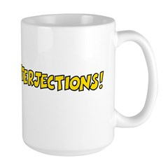 Interjections Large Mug