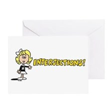Interjections Greeting Card