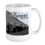 Sunset District Ceramic Mugs