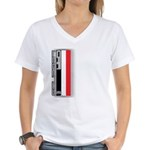 Musclecars V Women's V-Neck T-Shirt