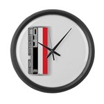 Musclecars V Large Wall Clock