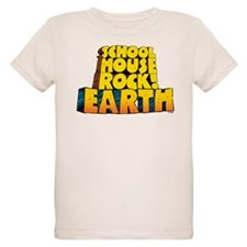 Schoolhouse Rock! Earth Organic Kids T-Shirt