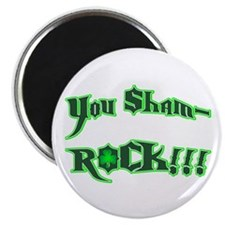 Sham-Rock Star Magnet