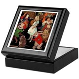 Alice and Friends Keepsake Box