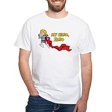 My Hero, Zero White T-Shirt