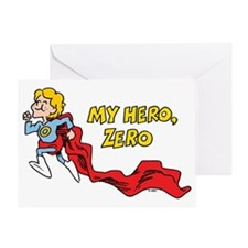 My Hero, Zero Greeting Card