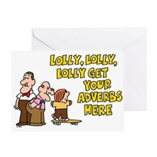 Lolly Lolly Lolly Greeting Card