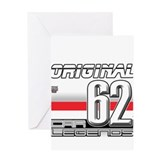 Musclecars 62H Greeting Card