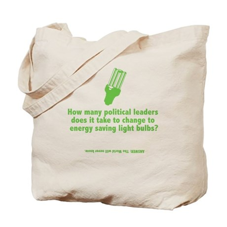 How many political leaders... Tote Bag