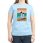 Girls Looking Out to Sea Women's Light T-Shirt