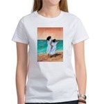 Girls Looking Out to Sea Women's T-Shirt