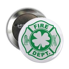 "Irish Firefighter 2.25"" Button (10 pack)"