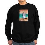 Girls Looking Out to Sea Sweatshirt (dark)