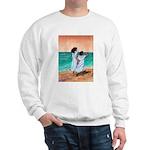 Girls Looking Out to Sea Sweatshirt