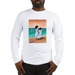Girls Looking Out to Sea Long Sleeve T-Shirt